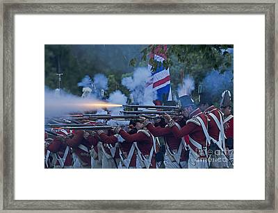 British Night Battle Framed Print by JT Lewis