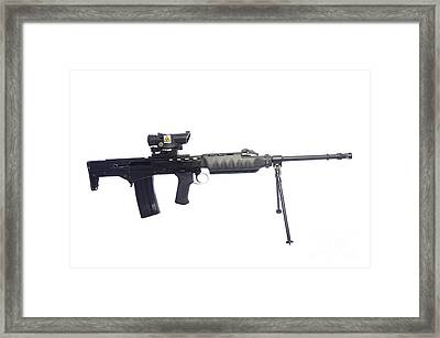 British Prototype 4.56mm Light Support Framed Print by Andrew Chittock