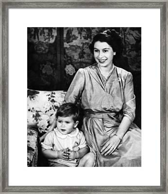 British Royal Family. Future Prince Framed Print by Everett