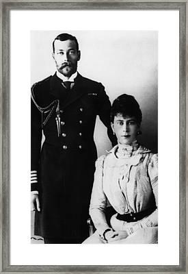 British Royal Family. Prince Albert Framed Print by Everett
