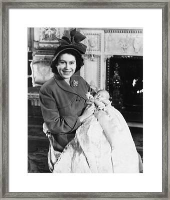 British Royal Family. Princess Framed Print