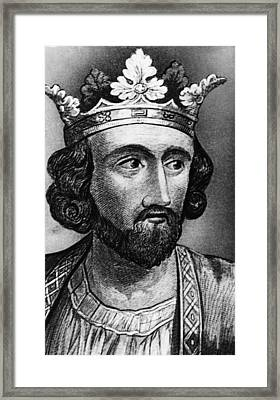 British Royalty. British King Edward I Framed Print by Everett