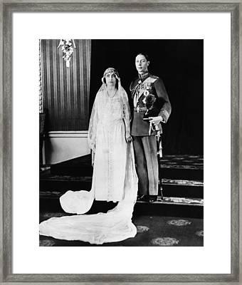British Royalty. British Lady Elizabeth Framed Print by Everett