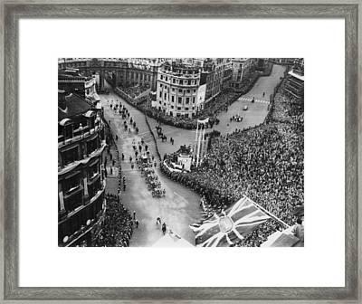 British Royalty. Future Queen Elizabeth Framed Print