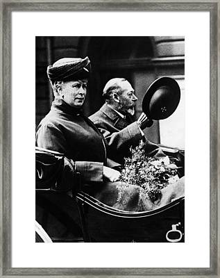 British Royalty. Queen Mary Of Teck Framed Print by Everett