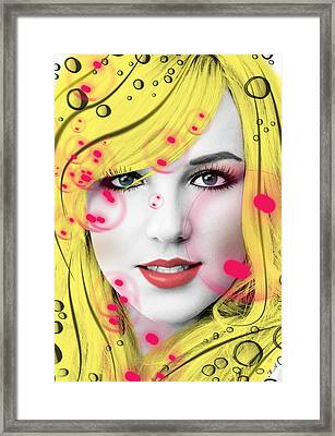 Britney  Framed Print by Mark Ashkenazi