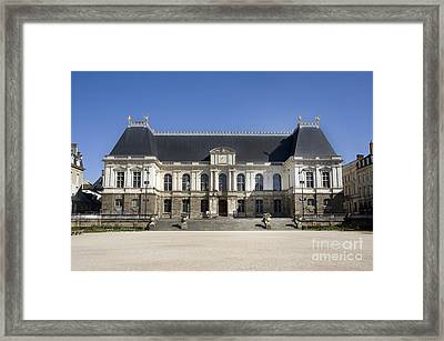 Brittany Parliament Framed Print by Jane Rix