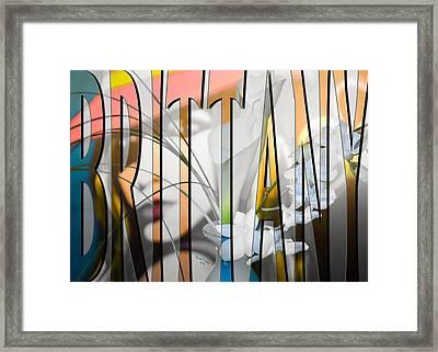 Brittany Framed Print