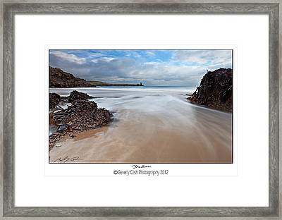 Broadhaven Framed Print