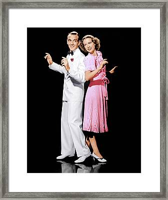 Broadway Melody Of 1940, From Left Fred Framed Print by Everett