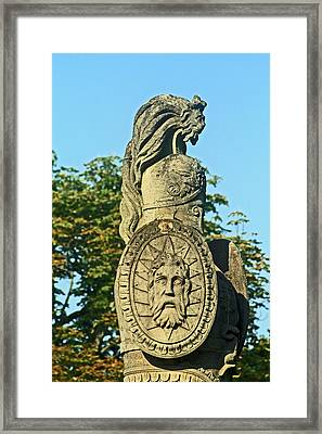 Brocks Monument 12 Framed Print by Cyryn Fyrcyd