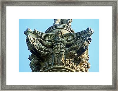 Brocks Monument 7 Framed Print by Cyryn Fyrcyd