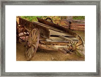 Broke Spoke I Framed Print by Charles Warren