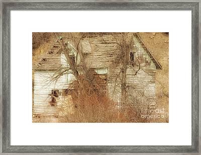 Broken Framed Print by Angelique Olin