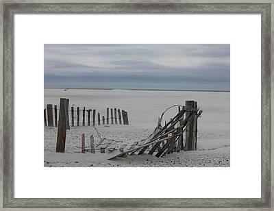 Broken Down Framed Print