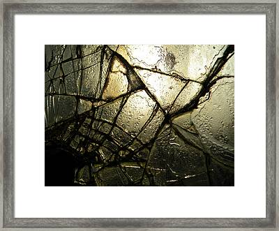Broken Dreams Framed Print by Julianna Horvath
