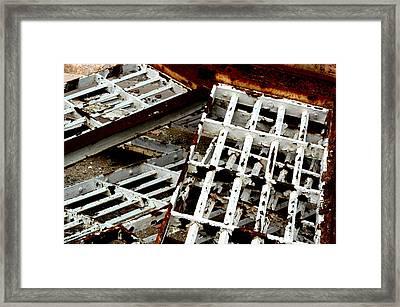 Broken Framed Print by Jenn Harris