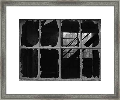 Broken On One Side Framed Print by Artist Orange