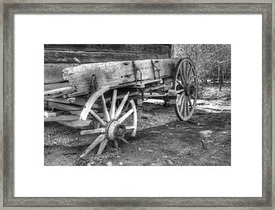 Broken Past Framed Print