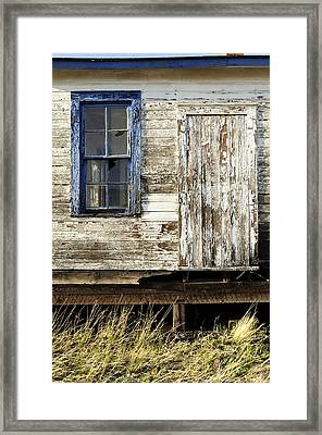 Framed Print featuring the photograph Broken Window by Fran Riley