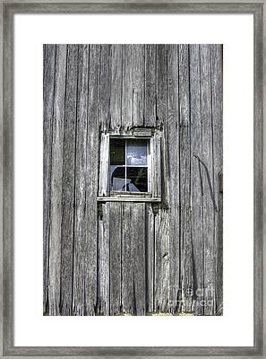 Broken Windows Framed Print by David Bearden