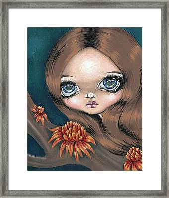 Bromeliad Beauty Framed Print