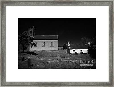 Bronte Homeland Interpretive Centre Drumballyroney Church County Down Ireland Framed Print