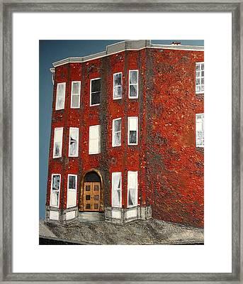 Bronx Building Framed Print