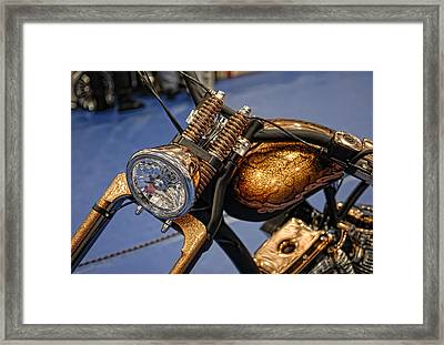 Framed Print featuring the photograph Bronze by Sami Martin