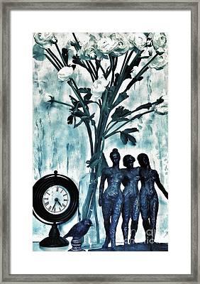 Bronze Still Life Framed Print by Marsha Heiken