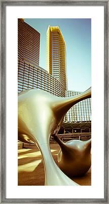Bronze Sunset 01 Framed Print