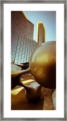 Bronze Sunset 02 Framed Print
