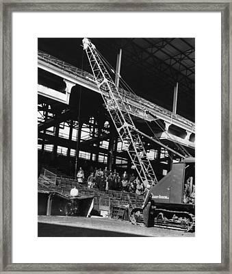 Brooklyn: Ebbets Field Framed Print