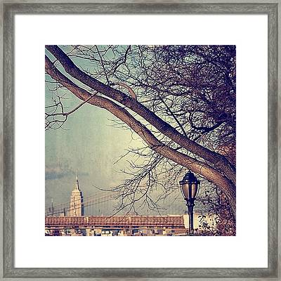 Brooklyn Heights - New York Framed Print