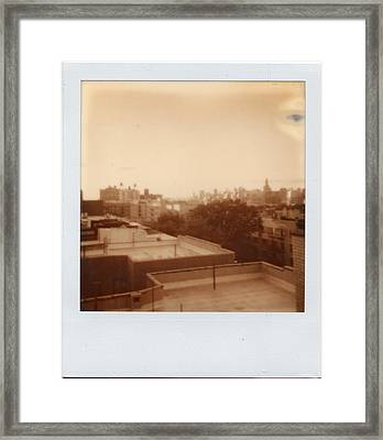 Brooklyn With Ip Px100 Film Framed Print