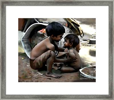 Brothers Framed Print by Jann Paxton