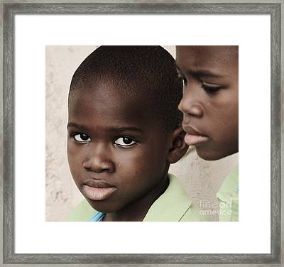 Brothers Framed Print by Rene Triay Photography