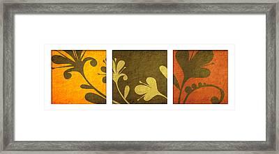 Brown Decor Framed Print by Nomi Elboim