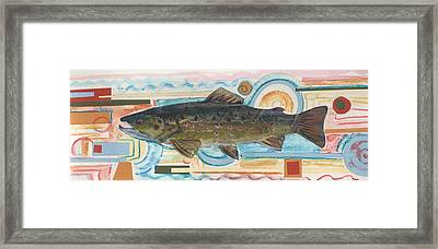 Brown Trout 1 Framed Print by Michelle Grove