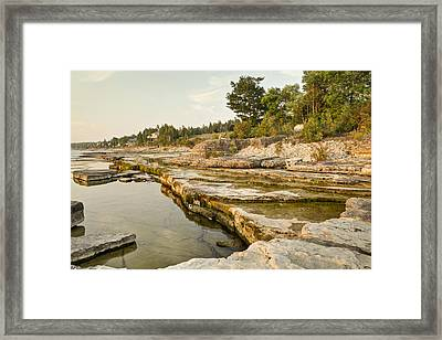 Bruce Peninsula Ontario Landscape Framed Print