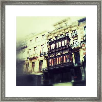 Brussels - 32 Framed Print by Mirko Lamonaca