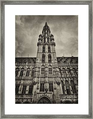 Framed Print featuring the photograph Brussels Groot Markt I by Jack Torcello