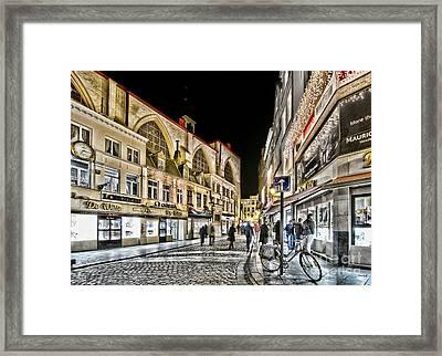 Brussels Street Framed Print