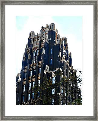 Bryant Park Hotel - Nyc Framed Print