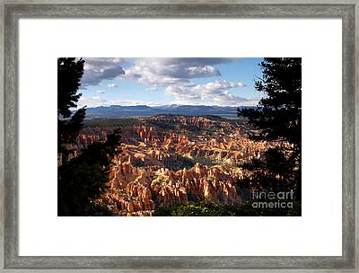 Bryce Canyon Ampitheater Framed Print by Butch Lombardi