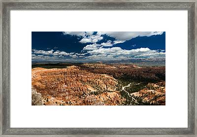 Bryce Canyon Ampitheater Framed Print by Larry Carr