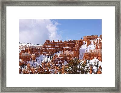 Bryce Canyon Castles Framed Print by Viktor Savchenko