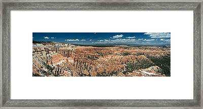 Bryce Canyon Panaramic Framed Print by Larry Carr