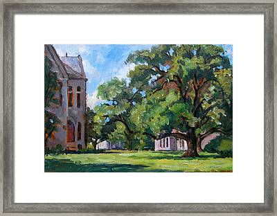 Bryn Mawr Afternoon Framed Print