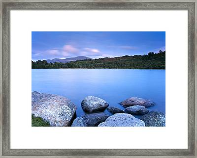 Brynteg Lake Framed Print